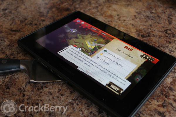 Rebuild for the BlackBerry PlayBook