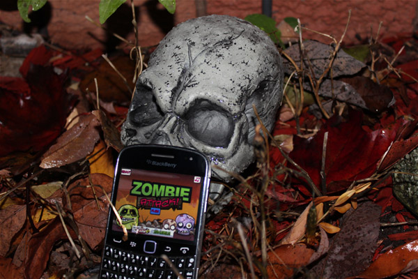 Zombie Attack for BlackBerry smartphones