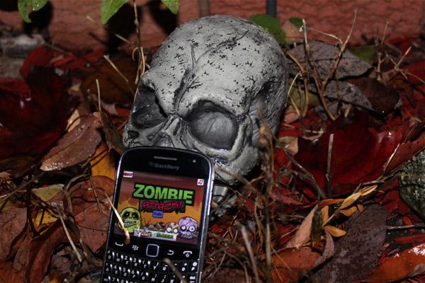 Zombie Attack for BlackBerry smartphones