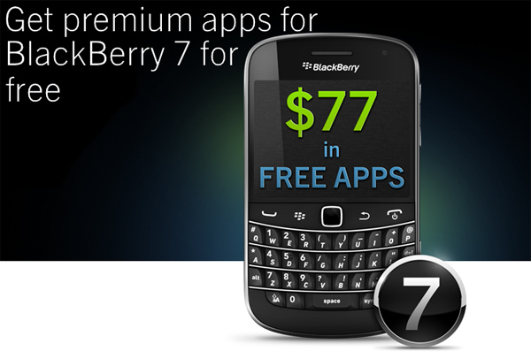 Free BlackBerry 7 Apps