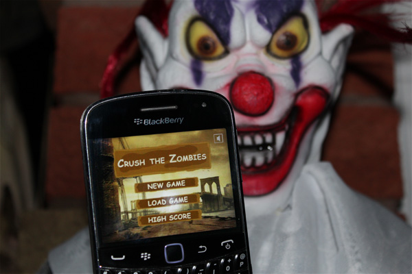 Crush the Zombies for BlackBerry smartphones