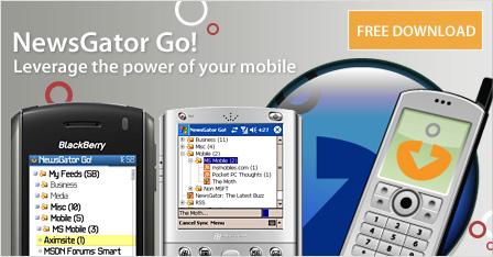 NewsGator Go! for BlackBerry