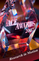 RIM Wins Twice at 2008 EE Times Ace Awards