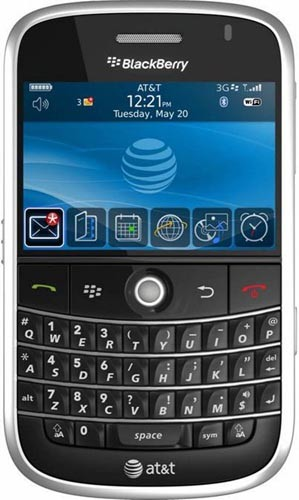 The AT&T BlackBerry Bold