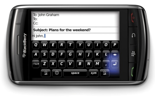 New BlackBerry Storm Videos!