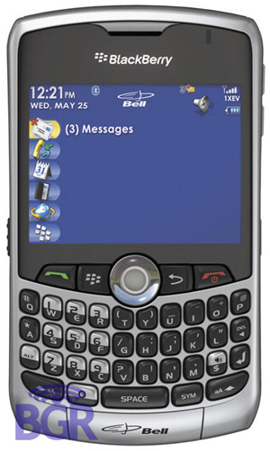 BlackBerry 8330 from Bell