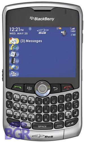 BlackBerry 8330 from Bell