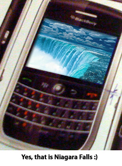 The BlackBerry Niagara