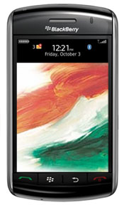 BlackBerry Storm in India