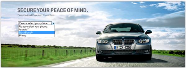 BMW Roadside Assistance App