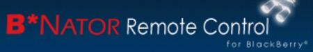 B*Nator Remote Control for BlackBerry