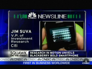CrackBerry.com BlackBerry BOLD Vid on CNBC