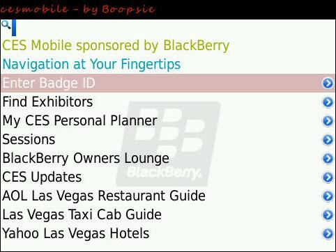 CES Mobile App