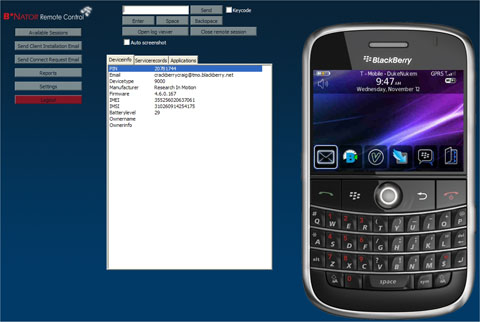 Taking Control of the BlackBerry