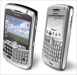 Win a BlackBerry Curve or 8830!