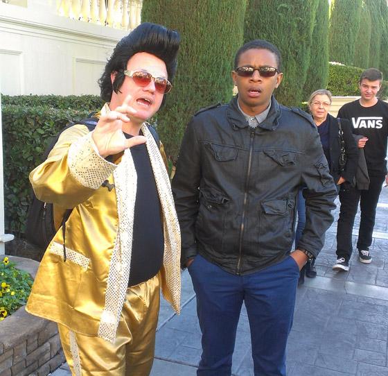 Elvis and Robert