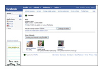 FindMe Application for FaceBook and BlackBerry