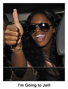 Foxy Brown to Jail After BlackBerry Attack
