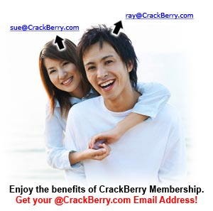 Get your @CrackBerry.com Email Address