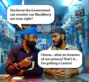 India Now Monitoring BlackBerry Network in India