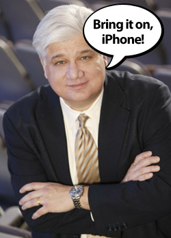 Lazaridis Comments on Data Outages and the iPhone