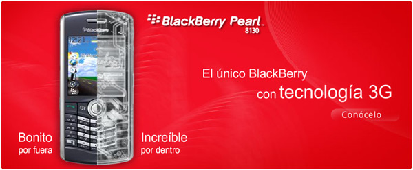 Iusacell and RIM Release the BlackBerry Pearl 8130 in Mexico