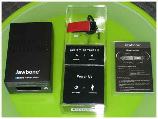Jawbone Bluetooth Headset - What's in the Box