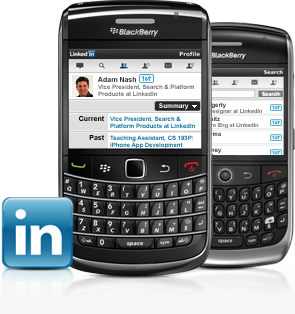 LinkedIn 1.0.1 for BlackBerry
