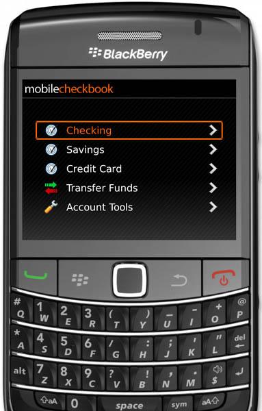 Mobile Checkbook