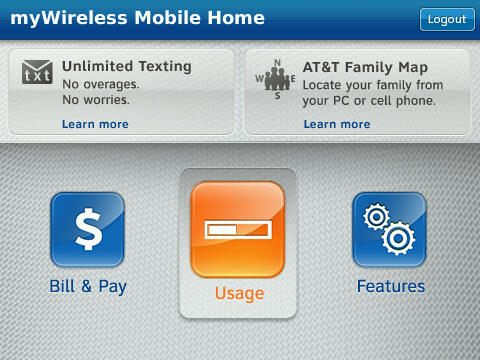 AT&T myWireless App