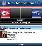 NFL Mobile Live for BlackBerry