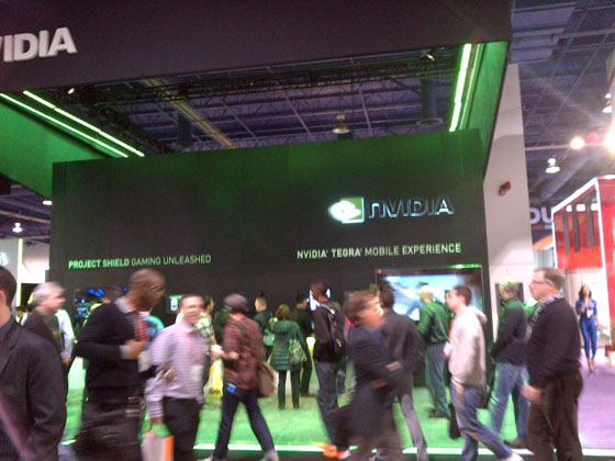 The NVIDIA Booth