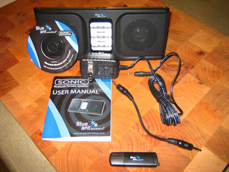 BlueAnt Sonic Speakers Un-boxed!