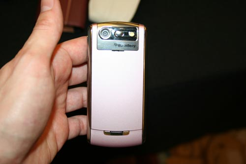 BlackBerry Pearl in Pink