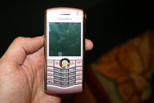 The BlackBerry Pearl - Pink