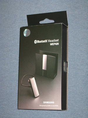 Samsung WEP420 Package
