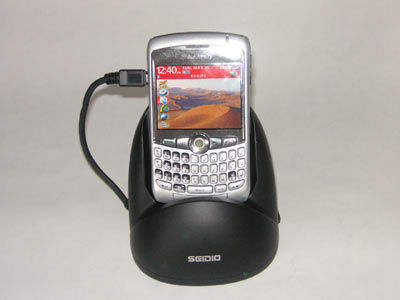 The Seidio USB Desktop BlackBerry Cradle