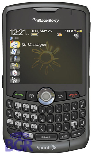 BlackBerry 8330 from Sprint