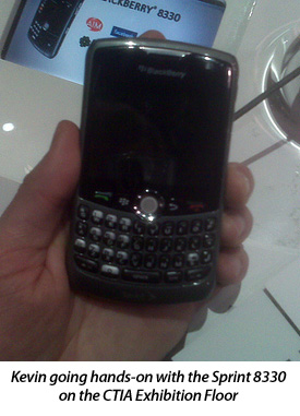 Going Hands-on with the Sprint 8330 at CTIA