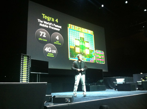 Tegra 4 - The World's Fastest Mobile Processor