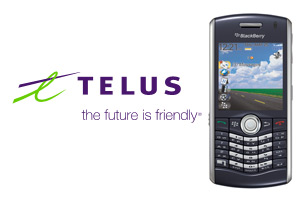 Telus Launches Black Pearl 8130