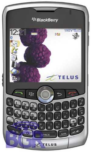 BlackBerry 8330 from Telus