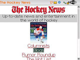 TheHockeyNews.com Goes Mobile