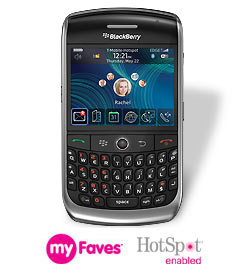 T-Mobile BlackBerry 8900
