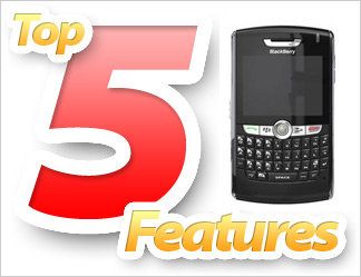 Top 5 Features of the BlackBerry 8800