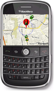 Trapster for BlackBerry