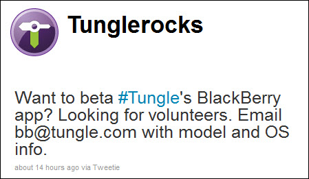 Tungle Looking for Beta Testers