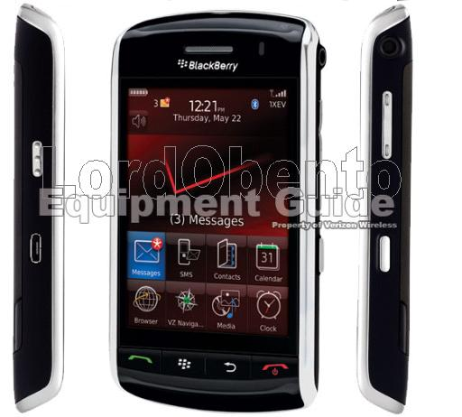 New Verizon BlackBerry Storm Pics