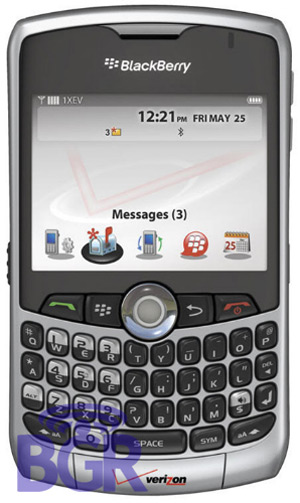 BlackBerry 8330 from Verizon