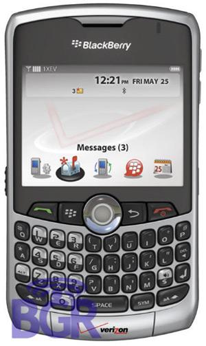 BlackBerry 8330 from Verizon